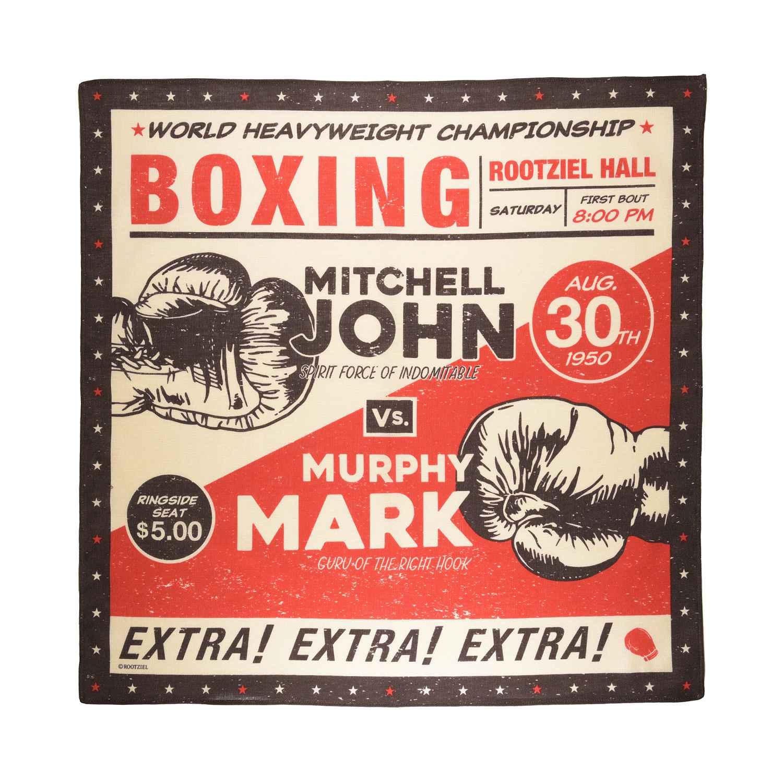 ボクシングマッチ