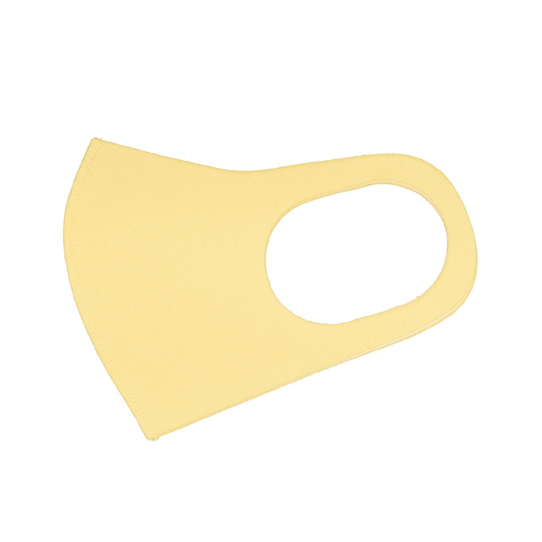 洗えるカラープリントマスク(CY)(ニットタイプ)レギュラーサイズ1枚入り