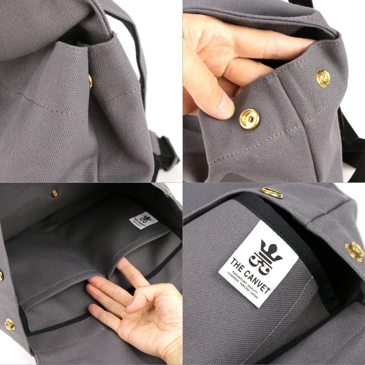 リュックサック 帆布 8号 フラップ A4 日本製 THE CANVET ザ・キャンヴェット FLAP 本革 栃木レザー 真鍮 キャンバス 無地 シンプル リュック 通学 外 ポケット おしゃれ 通勤 かわいい バッグ バックパック