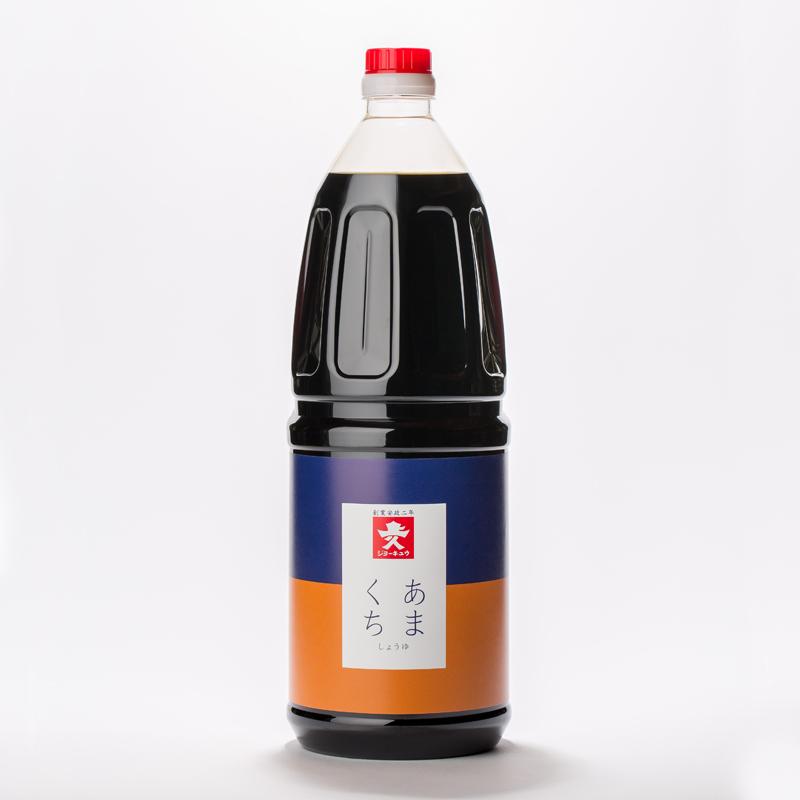 【常温品】ジョーキュウ あまくち醤油 1.8L 業務用 あまくち 醤油 甘口 しょうゆ