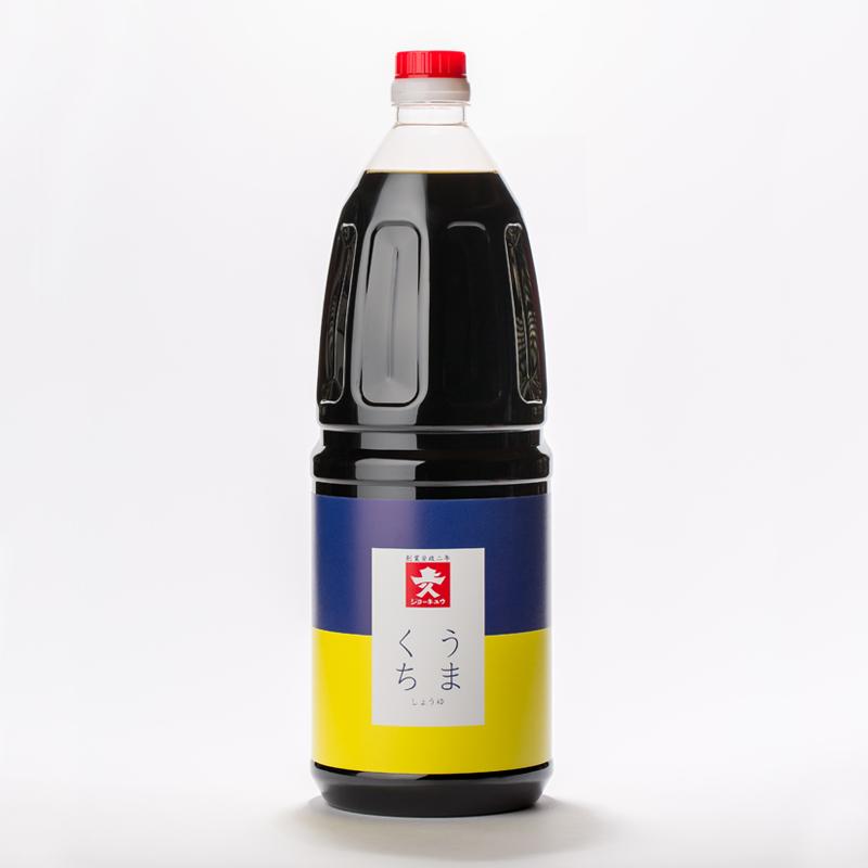 【常温品】ジョーキュウ うまくち醤油 1.8L 業務用 うまくち しょうゆ 醤油