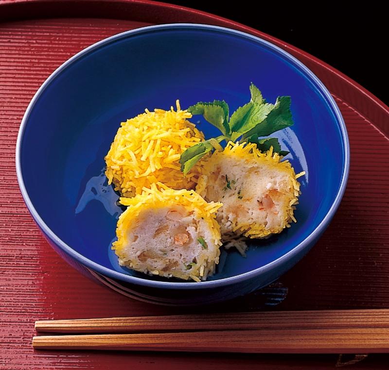 味の素冷食 業務用 錦糸卵の海老しんじょう 1kg 20g×50個 錦糸卵 真薯 えび すり身 和風 惣菜 冷凍