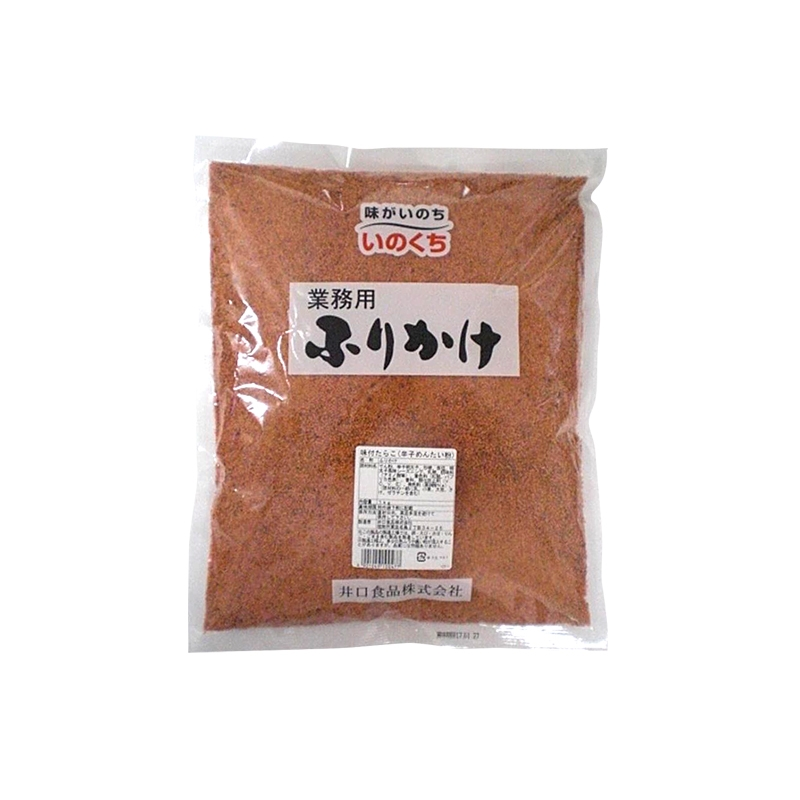【常温品】井口食品 味付たらこ 1kg 業務用 ふりかけ たらこ 明太子 タラコ 辛子めんたい粉 ご飯 スパゲティ 調味料