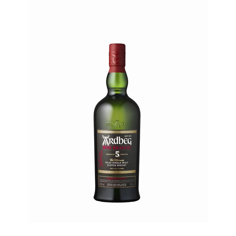 アードベッグ ウィー・ビースティー 5年 10年 お酒 熟成 ウィスキー 46度 700ml 業務用 セット商品 2本 お取り寄せ
