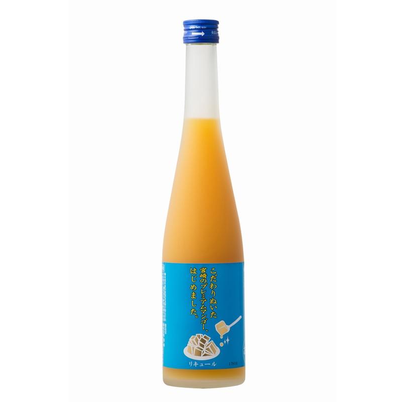 【常温品】マンゴー梅酒 こだわりぬいた宮崎のプレミアムマンゴー、はじめました。 5% 500ml リキュール 梅酒 果実酒 マンゴー 業務用 九州 篠崎