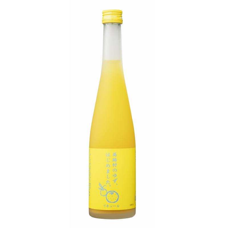 【常温品】ゆず梅酒 馬路村のゆず、はじめました。 6% 500ml 梅酒 果実酒 ゆず リキュール 業務用 九州 篠崎