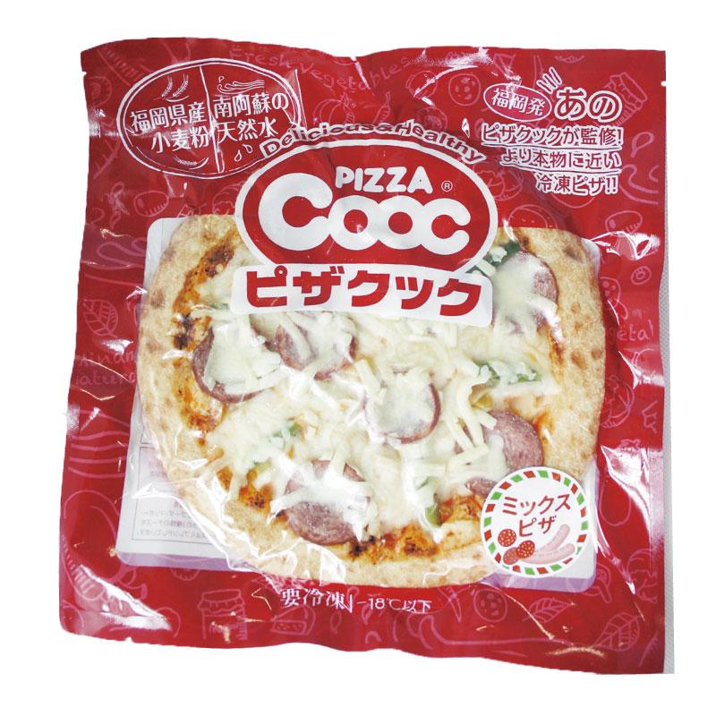 【冷凍品】ピザクック監修 ピザ ミックスピザ 258g 1枚 簡単 調理 冷凍 お手軽 ピザ サラミ チーズ