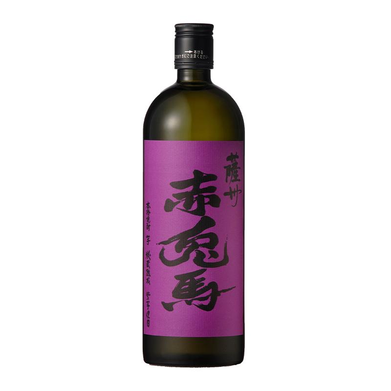 【常温品】本格芋焼酎 紫の赤兎馬 芋 720ml 25度 芋焼酎 鹿児島 ?田酒造 紫芋使用 黄金千貫 頴娃