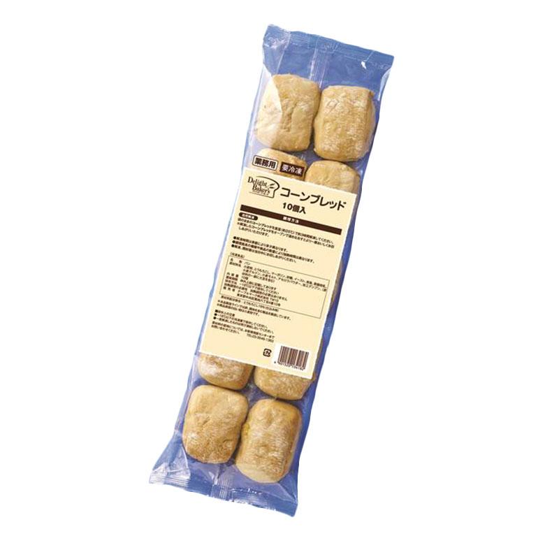 テーブルマーク コーンブレッド 約22g×10個入り 冷凍 パン 冷凍パン 軽食 朝食 お手軽 簡単 コーンブレッド 冷凍 業務用