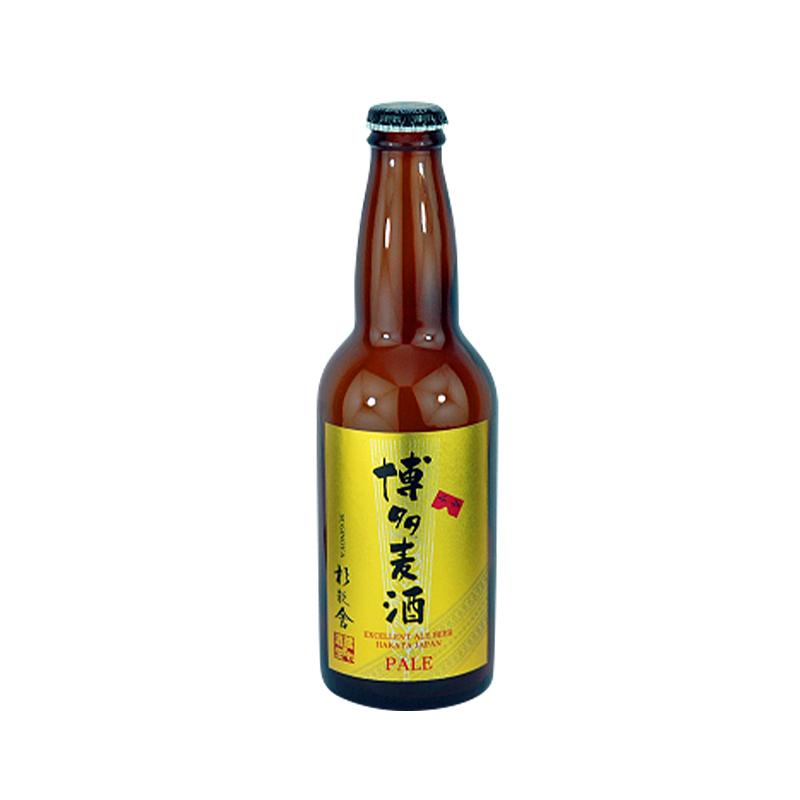 【常温品】杉能舎 すぎのや 博多麦酒 ペールエール 330ml アルコール 5.5% 麦酒 ビール 厳選ビール 福岡 浜地酒造