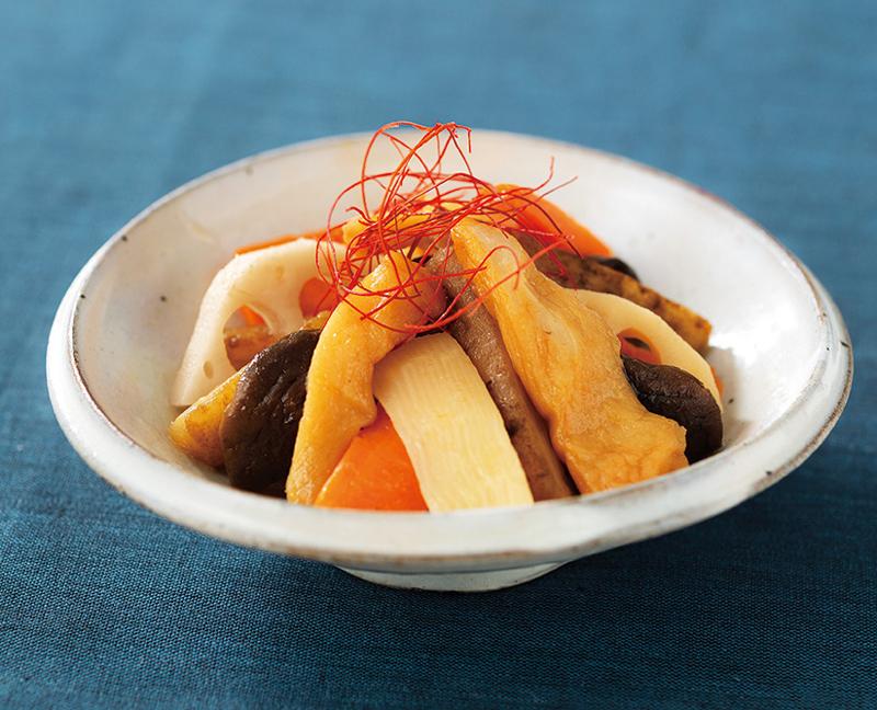 【冷蔵品】ケンコーマヨネーズ 和彩万菜 さつま揚げと根菜の合わせ煮 500g 冷蔵 簡単 お手軽 惣菜 さつま揚げ 和食 業務用