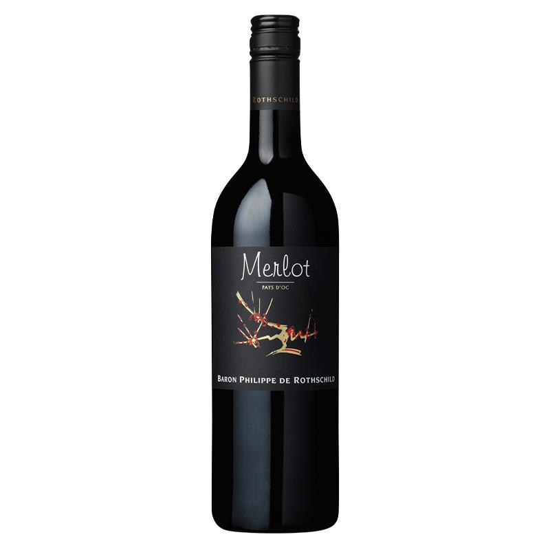 【冷蔵品】バロン・フィリップ・ド・ロスチャイルド ヴァラエタル・メルロー 750ml アルコール 14.0% 赤ワイン ワイン 南フランス ラングドック・ルーション地方