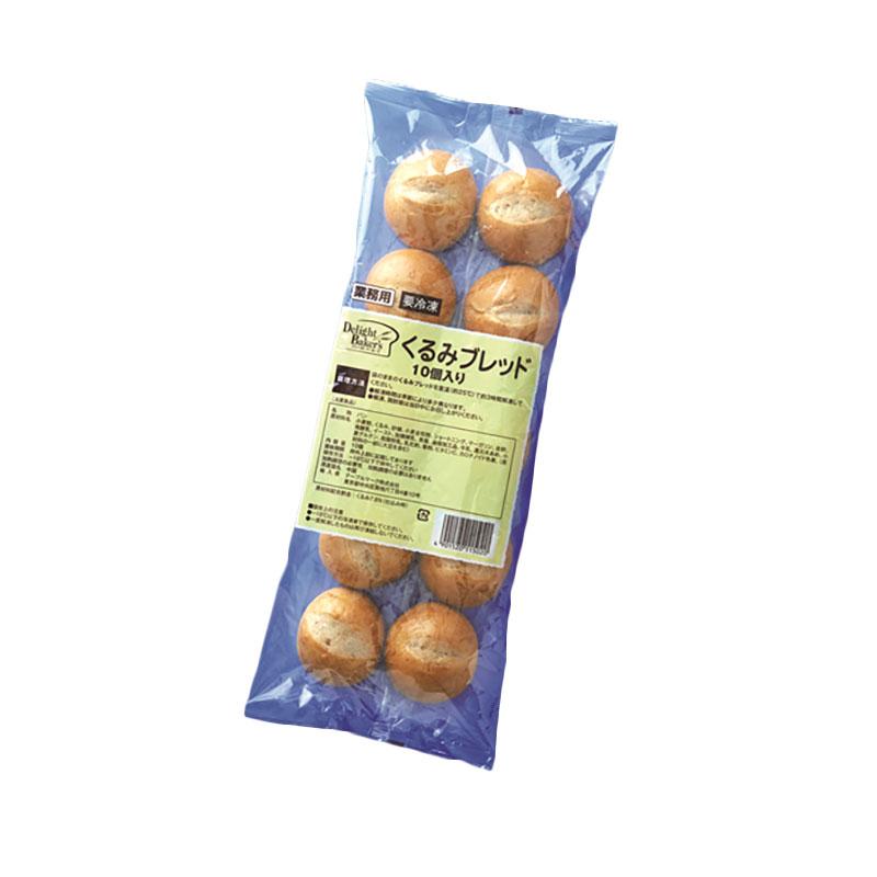 テーブルマーク くるみブレッド 約22g×10個入り 冷凍 パン 冷凍パン 軽食 朝食 お手軽 簡単 くるみパン くるみブレッド 冷凍 業務用