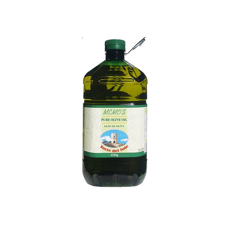 【常温品】トッレ・デル・ソーレ ピュア・オリーブオイル 5L 4580g オリーブオイル 油 食用 オリーブ油 大容量 調味料 業務用