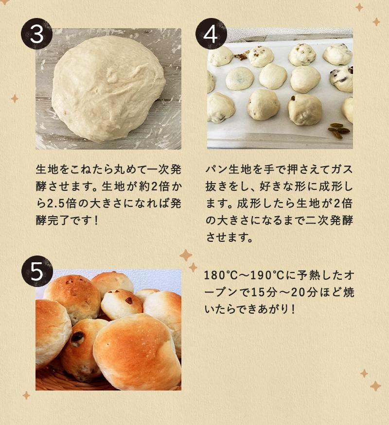 パン レーズン 手作り お家で気ままに手作りパンセット 手作りキット ドライベリー ドライイースト パン作り ドライレーズン 粒あん くるみ 業務用