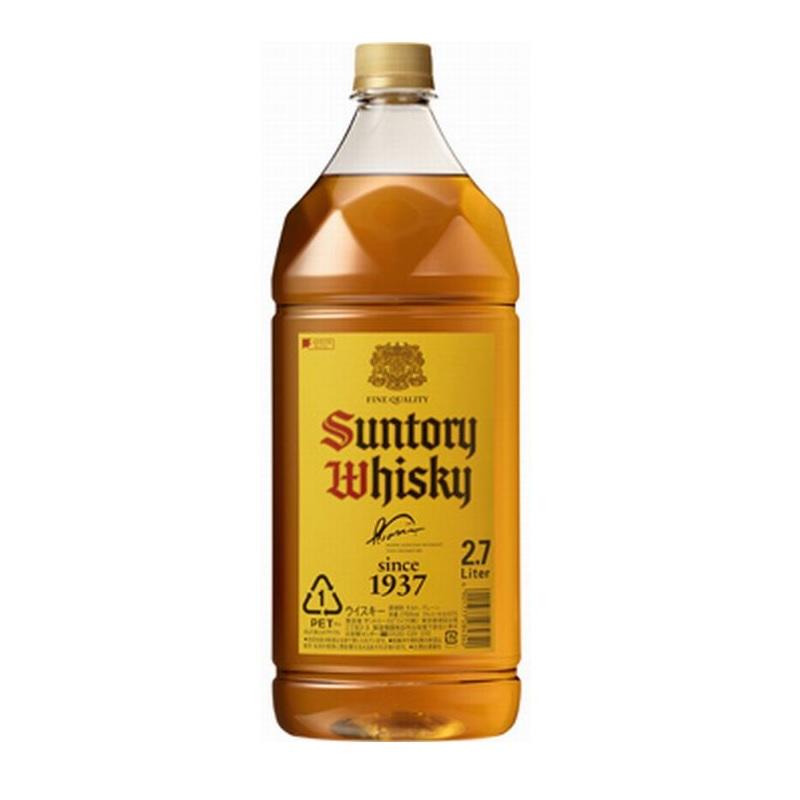 【常温品】サントリー 角 大容量 サントリー角瓶 40度 2.7L PET ハイボール ウイスキー 酒 業務用 送料無料