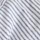 HUIS 空羽コードレーンフレンチワイドブラウス マリンブルー