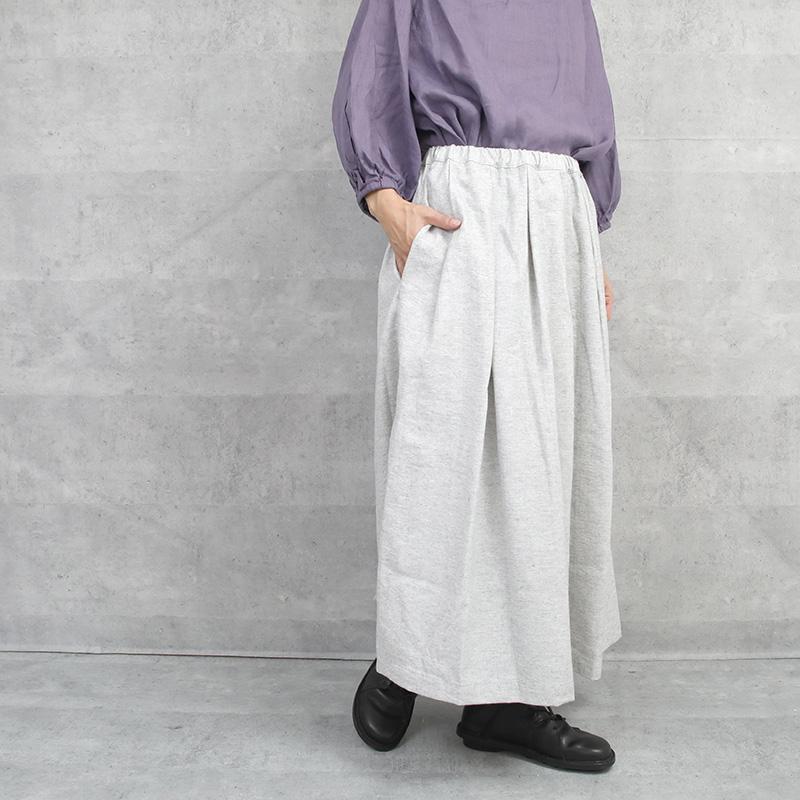 fog linen work|ジジ タックスカート WOOL LINEN WHITE