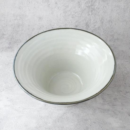 平岡仁 白磁麺鉢