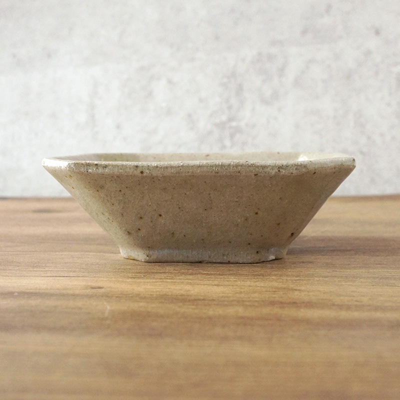 寺村光輔 隅切り角鉢 薪