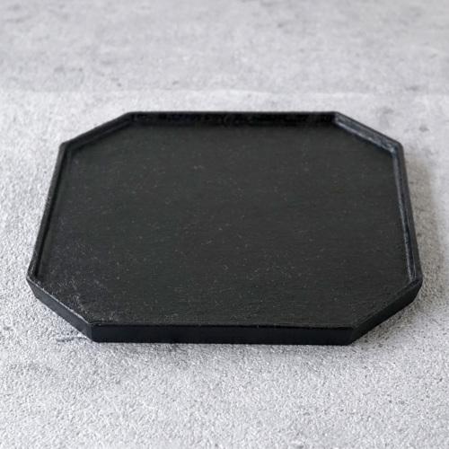蝶野秀紀|和紙貼ティートレーS 黒