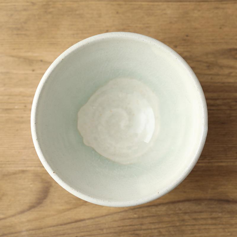 平岡仁|粉引飯碗
