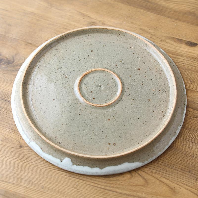 鈴木稔|丸平皿 27cm