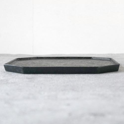 蝶野秀紀|和紙貼ティートレーM 黒