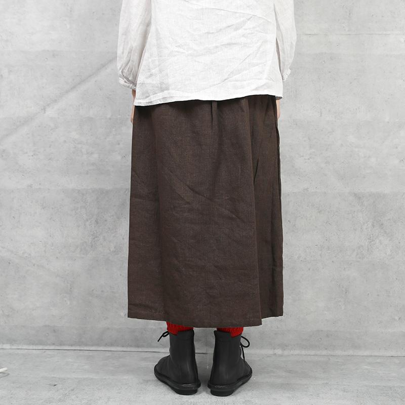 fog linen work|チャロ スカート SEPIA