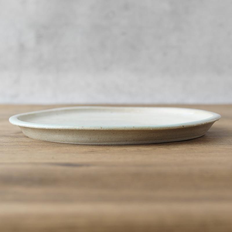 鈴木稔|丸平皿 24cm