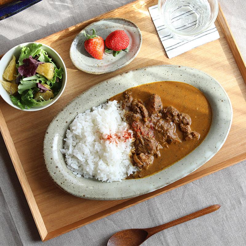 寺村光輔|オーバルカレー皿