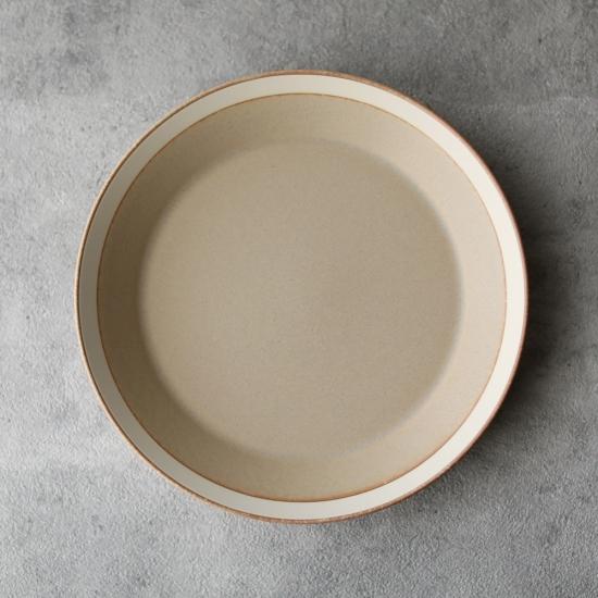 木村硝子店×イイホシユミコ|dishes 200 plate / matte  sand beige
