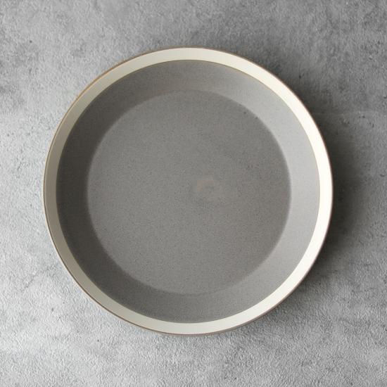 yumiko iihoshi porcelain × 木村硝子店|dishes 200 plate / matte moss gray