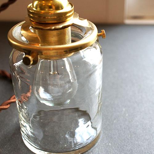 安土草多|ペンダントライト [E17] 筒瓶