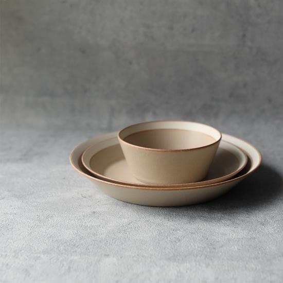 yumiko iihoshi porcelain × 木村硝子店|dishes bowl S / matte sand beige