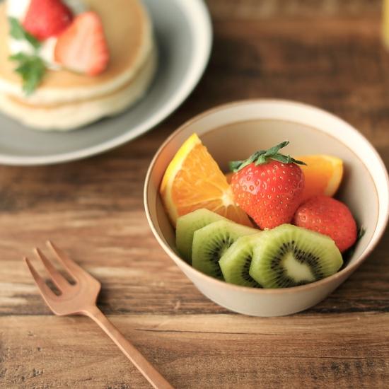yumiko iihoshi porcelain × 木村硝子店|dishes bowl S / matte moss gray
