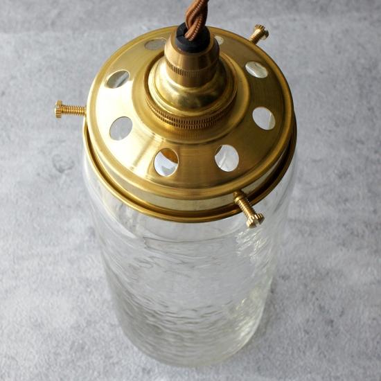 安土草多 ペンダントライト [E17] 太筒瓶 ロング