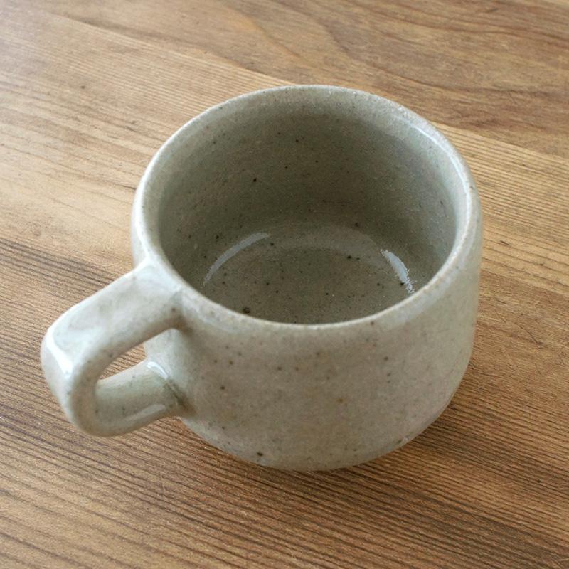 寺村光輔|コーヒーカップ 薪 泥並釉