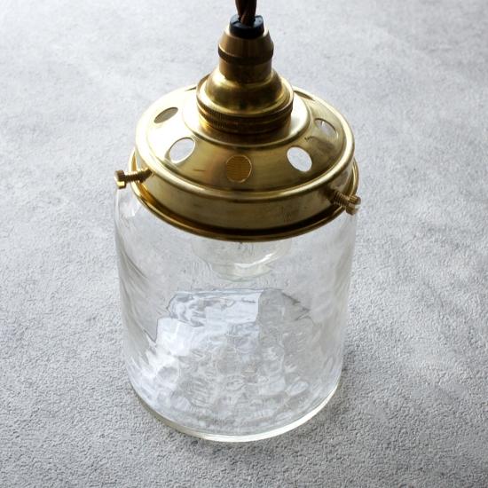 安土草多|ペンダントライト [E17] 太筒瓶