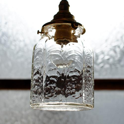 安土草多|ペンダントライト [E17] 十角筒瓶