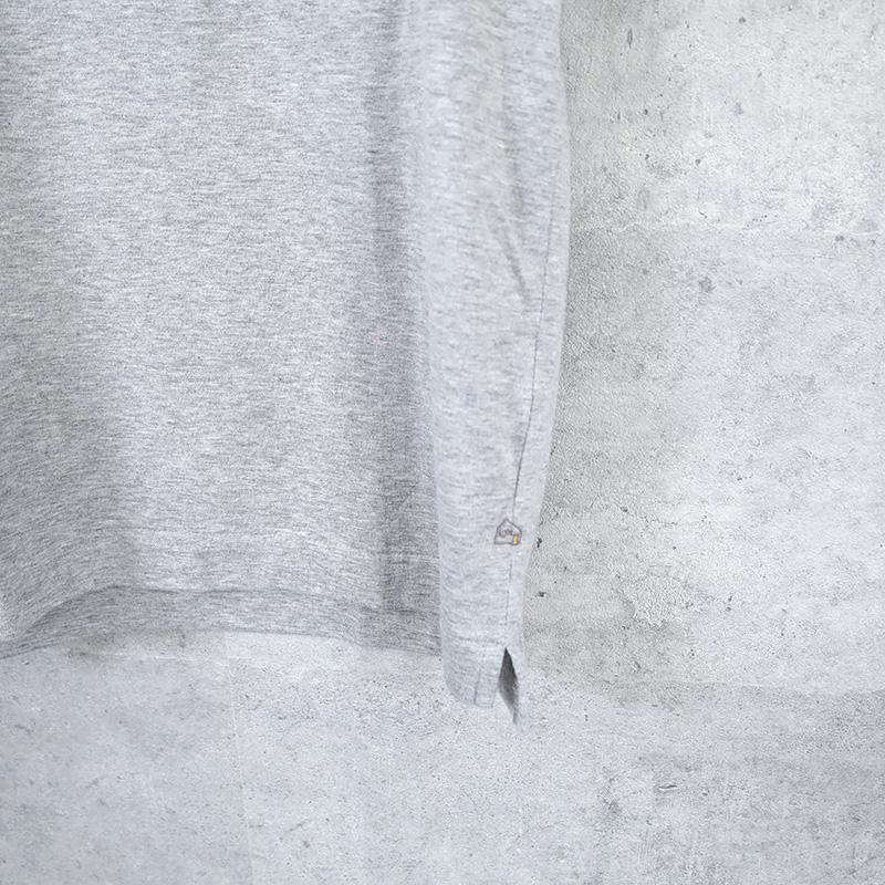 HUIS×yohaku|ギザコットン半袖カットソー gray【ユニセックス】