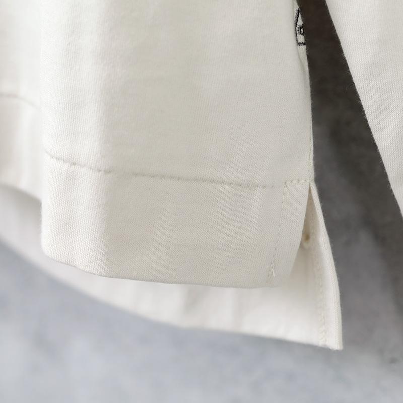 HUIS×yohaku|ギザコットンカットソー beige【ユニセックス】