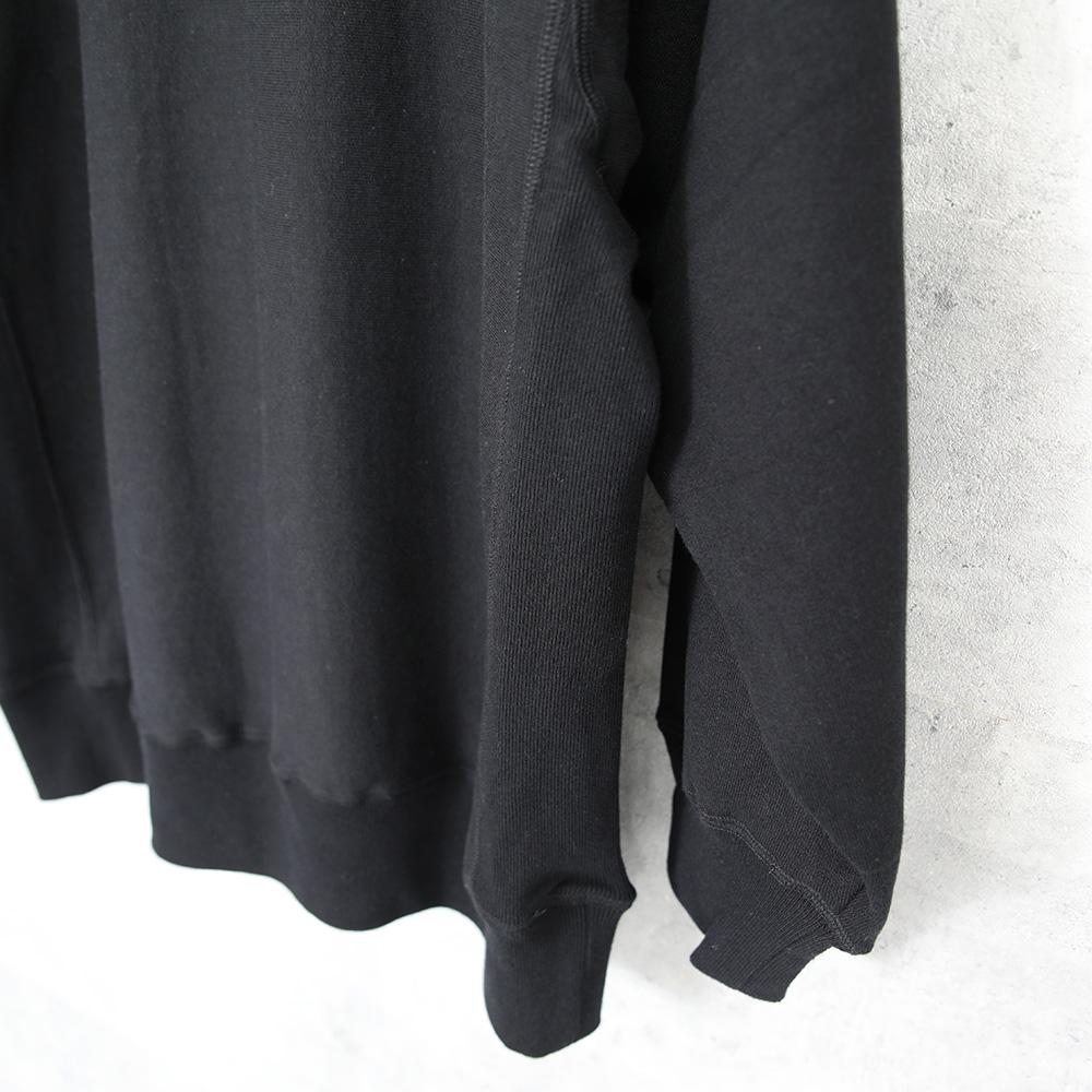 1dozen|スウェットシャツ Black