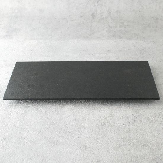 蝶野秀紀|和紙貼トレー中長 黒