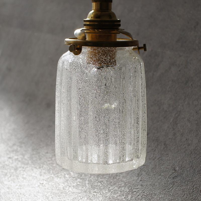 安土草多|ペンダントライト [E17] 鳴門筒瓶 泡