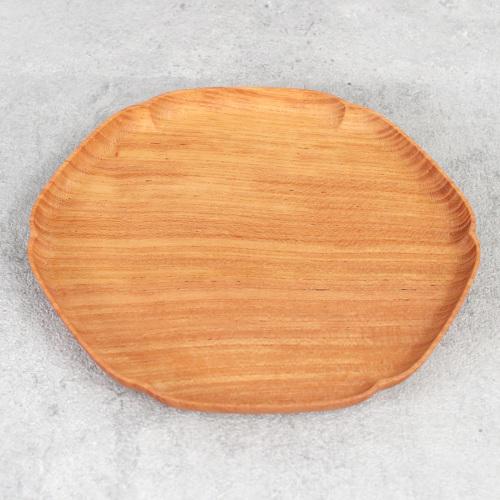 四十沢木材工芸|雪輪盆 小