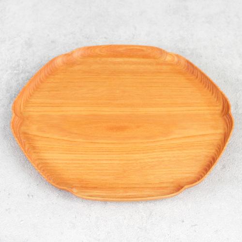 四十沢木材工芸|雪輪盆 中