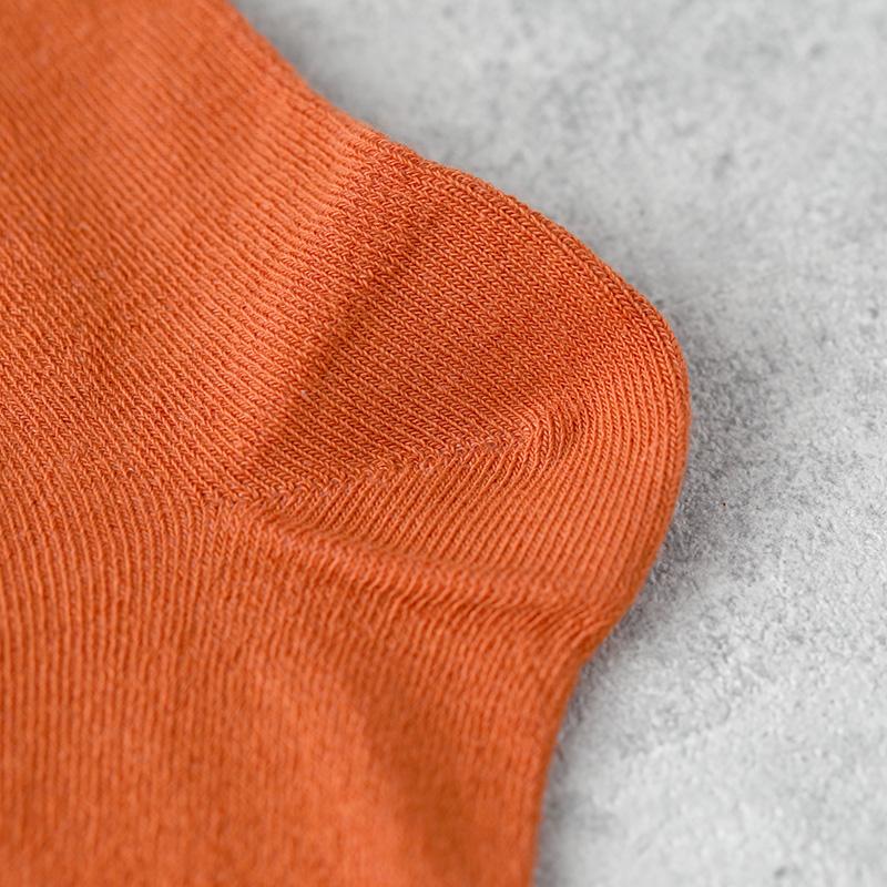 サルビア ふんわりくつした PLAIN macaron オレンジ