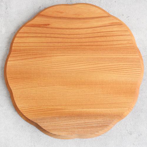 四十沢木材工芸|輪花盆 大
