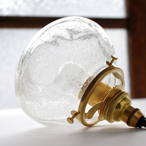 安土草多|ペンダントライト [E17] 平球 泡
